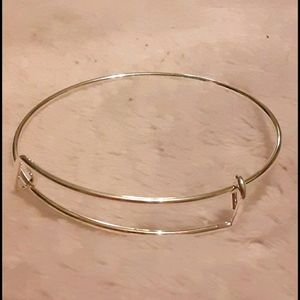 NWT! Silver Tone Charm Bracelet